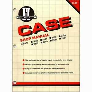 I t Shop Manual Compatible With Case 2290 2290 2090 2090 2294 2294 2590 2590