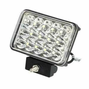 Led Work Light 45w Rectangular Hi Lo Beam Deutz International White
