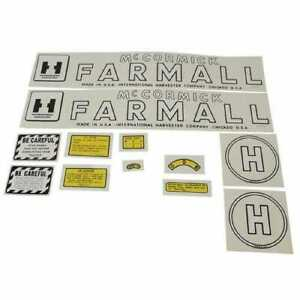 Mylar Decal Set Farmall H International H 353125r97
