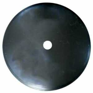 Disc Blade 20 Smooth Edge 3 16 Thickness 1 1 2 Round Axle