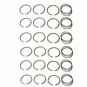 Piston Ring Set Standard 6 Cylinder Allis Chalmers 7060 7045 7080 Gleaner