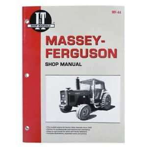 I t Shop Manual Compatible With Massey Ferguson 3505 3505 3545 3545 3525 3525