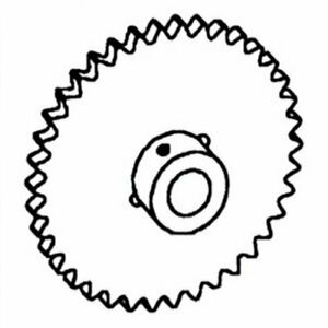 Sprocket Auger Drive Clean Grain Gleaner K2 F2 F3 71318349