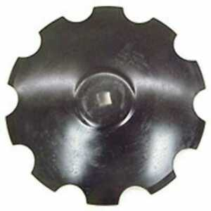 Disc Blade 20 Notched Edge 7 Gauge 1 1 8 Square Axle Raised Flat Center