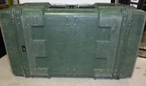 Hardigg Pelllican Military Storage Hard Plastic Shipping Case Lid 39 X 23 X 11