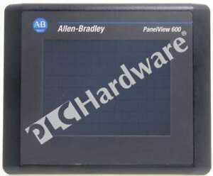 Allen Bradley 2711 t6c2l1 b Panelview 600 Color Touch Screen Dh 485 Dc Frn 4 46
