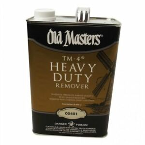 Old Masters Tm4 Heavy Duty Tractor implement Paint Remover Gallon