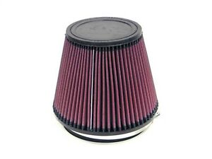 K n Ru 3100 Round Cone Tapered Performance Air Intake Filter 6 Flange 6 Height