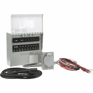 Reliance Transfer Switch Kit 10 Circuit Model 310crk