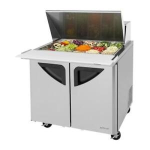 Turbo Air Tst 36sd 15 n6 Super Deluxe 36 In Mega Top Sandwich Prep Table