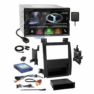Kenwood Dvd Gps Carplay Stereo Dash Kit Bose Harness For 07 Cadillac Escalade