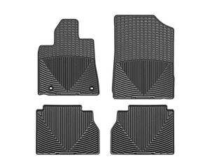 Weathertech All Weather Floor Mats For Toyota Tundra 2012 2019 1st 2nd Row Black