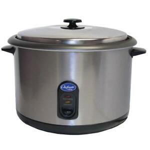 Globe Rc1 25 Cup Electric Commercial Rice Cooker