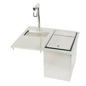 Advance Tabco D 24 wsibl Drop in Glass Filler Station W Ice Bin