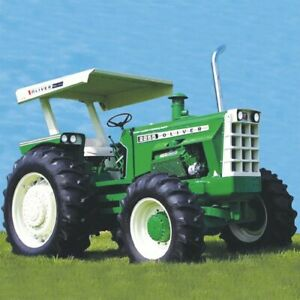 Tractor Canopy And Support Frame Fwa With Regular Fenders Metal Oliver 1855