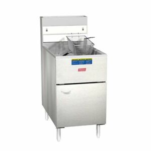Pitco Frialator 65s Economy 60 80 Lb Natural Gas Fryer