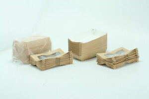 Paper Take Out Container Paper To Go Box Rectangular Cafe Vision 200ct Box