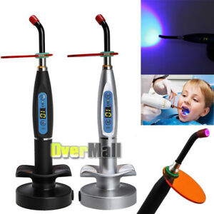 Dental 10w Wireless Cordless Led Cure Curing Light Lamp 2000mw Tool Us Fast Ship