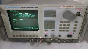 Motorola Communications System Analyzer R2600c Powers On Read Ad