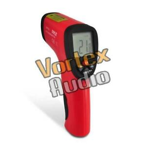 New Pyle Pirt25 Compact Infrared Thermometer W Laser Targeting Lcd W Backlight