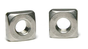 316 Stainless Steel Square Nuts All Sizes Qty 1000