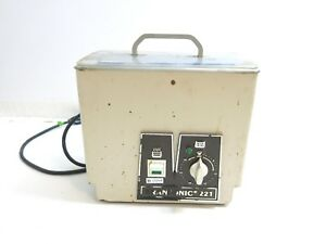 Bransonic Ultrasonic Cleaner Model B 221 Rated At 185 Watts A Smithkline Company