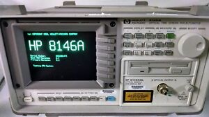 Agilent Hp 8146a W 81465sl Time Domain Reflectometer Printer Option 002 003