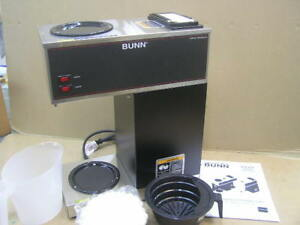 New In Box Bunn Vpr Commercial Pour Over Coffee Brewer Maker Machine 2 Warmers