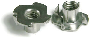 316 Stainless Steel T Nuts All Sizes Qty 25