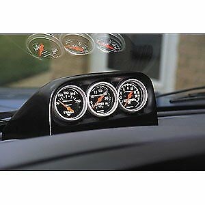 Auto Meter 15002 Triple Dash Pod 1998 2000 Dodge Ram For 2 1 16 Gauges