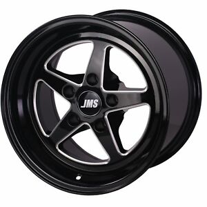 Jms A1510626fb Avenger Racing Wheel 1994 04 Ford Mustang Rear Wheel Wheel Size