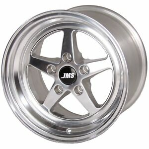 Jms A1510626fp Avenger Racing Wheel 1994 04 Ford Mustang Rear Wheel Wheel Size