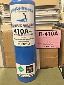 R410 R410a R 410 R 410a Refrigerant With Self Sealing Leak Stop Proseal Xl4