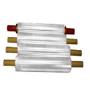 Stretch Wrap With Pre attached Handles 1000 Feet Long X 20 White