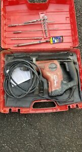 Hilti Te 7 c Rotary Hammer Drill Demolition Breaker With Lots Of Bits And Case