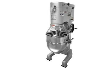 Alfa Precision Apm 60hd 60 80 Quart Pizza Dough Planetary Mixer 4 Hp 3 Speed