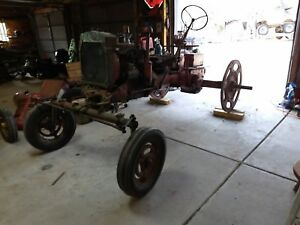 1951 Farmall Super C Parts Tractor With Wide Front End