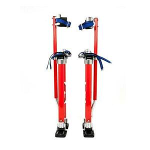 Pentagon Tool Professional 24 To 40 Drywall Stilts Walk Highest Quality Red