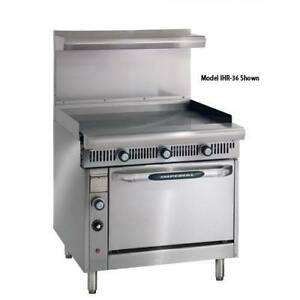 Imperial Ihr g36 Diamond Series 36 Griddle Manual W Standard Oven