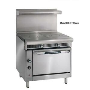 Imperial Ihr 2ft c Diamond Series 2 18 French Tops W Convection Oven