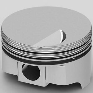United Engine Machine Ic9920 040 Chevy 454ci Fhr Forged Pistons Flat Top 4 290 B