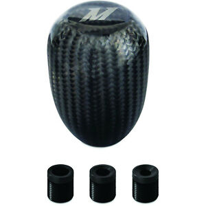 Mishimoto Mmsk cf Carbon Fiber Shift Knob Hand laid Resin Infused Carbon Fiber W
