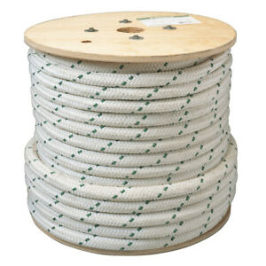 Greenlee 455 1 2 inch X 300 foot Double Braided Composite Rope For Cable Pullers