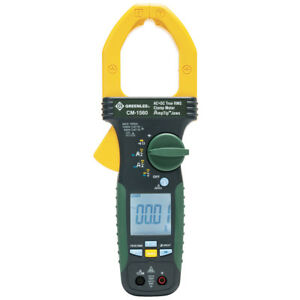 Greenlee Cm 1560 1 000 amp Durable General Purpose Ac dc Clamp True Rms Meter