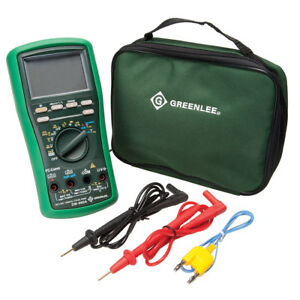 Greenlee Dm 860a Durable Dmm 500 000 count Ac dc Auto manual Digital Multimeter