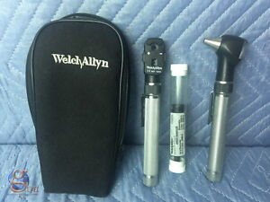 Welch Allyn Pocketscope Otoscope Ophthalmoscope Diagnostic Set Ref 92821