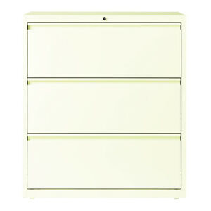 Hirsh Hl10000 Series 36 inch 3 drawer Commercial Lateral File Cabinet