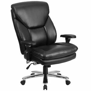 Leather Big Tall Chair