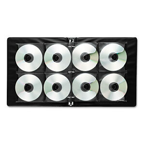 Fellowes Two sided Cd dvd Refill Sheets For Three ring Binder 25 pack