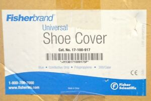 Fisherbrand Universal Maximum Protection Disposable Anti Static Shoe Covers 300